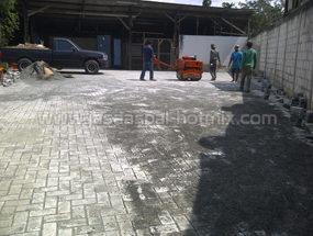 Proyek Pemasangan Paving Block di Jl. Manggis Ciganjur