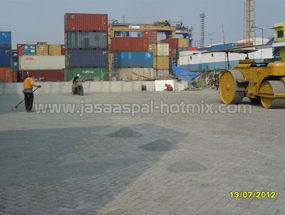 Proyek Pemasangan Paving Block PT. GERAHA SEGARA